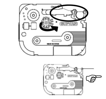 标签打印机怎么换碳带